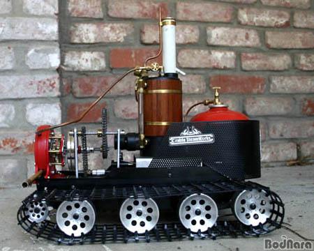 Mini turbine à vapeur