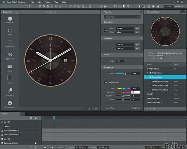 Gear Watch Designer Templates Gear S