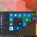 MS 윈도우 10 프리뷰 빌드 10122 업데이트, 새로운 스타일 시작메뉴와 버그 수정 및 최적화