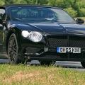 벤틀리 '컨티넨탈 GT 컨버터블', 시험 주행 차량 스파이샷 포착돼