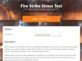 내 컴퓨터는 통과할 수 있을까?, 3DMark Stress Test