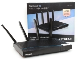 기가 LAN 여섯개와 무선 5.3Gbps 대역폭,공유기 끝판왕 넷기어 나이트호크 R8500