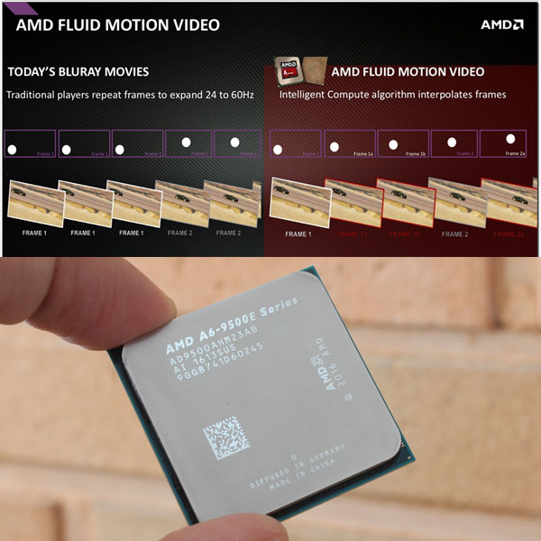게임만? 이제는 동영상도 60프레임 시대,AMD 브리스톨 릿지와 플루이드 모션