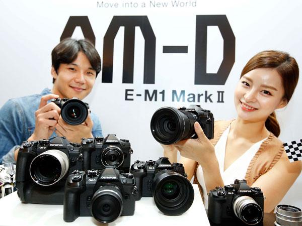3년만에 돌아온 올림푸스 미러리스 플래그십 카메라, OM-D E-M1 Mark II