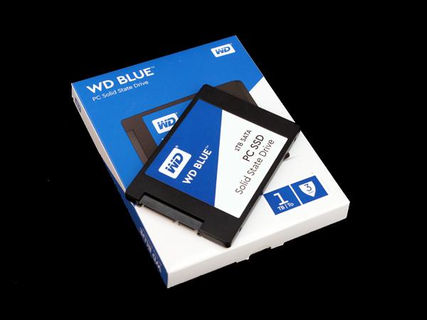 일반 소비자용 SSD 시장에 첫발을 내딛다, WD Blue 1TB