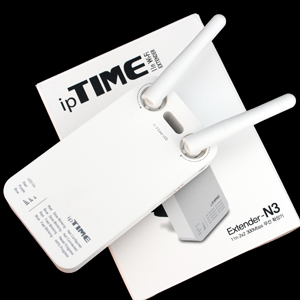 간편하게 802.11n 와이파이 확장한다, ipTIME Extender N3