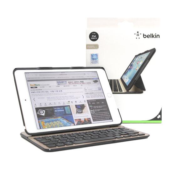 아이패드 미니 4 잠재력 최대로!,벨킨 QODE 키보드 케이스 F5L191kr