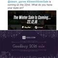 스팀과 GOG, 12월 22일 동시 겨울 세일 돌입