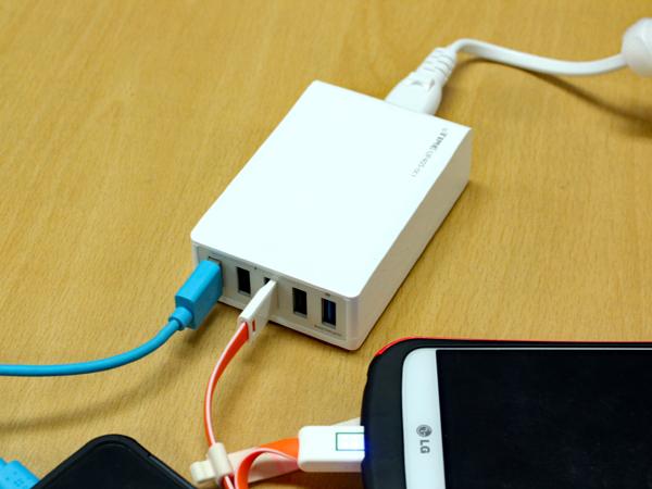 퀄컴 퀵차지 3.0으로 스마트폰 고속충전, ipTIME UP405-QC1