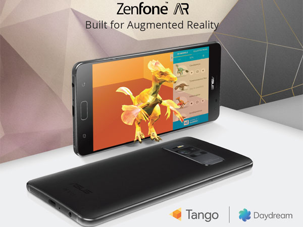 구글 가상현실과 증강현실을 동시에, ASUS 젠폰 AR 및 젠폰3 Zoom 발표