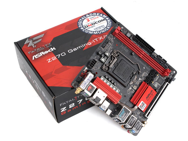 Z270 메인보드 기능을 Mini-ITX로 즐겨라, ASRock Z270 Gaming-ITX/ac 디앤디컴