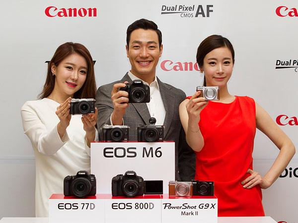 EOS M3/77D/800D 파워샷 G9 X Mark II까지, 캐논 2017 상반기 카메라 신제품 발표
