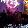 AMD 질소냉각 5.2GHz 오버 달성, 시네벤치 R15 세계기록 돌파