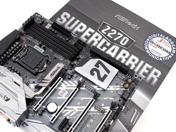 하이엔드 구성에 RGB LED까지, ASRock Z270 SUPERCARRIER 디앤디컴