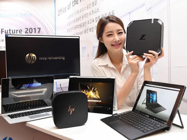 노트북-태블릿-미니PC-워크스테이션, HP 미래 사무실 기업용 PC 4종 공개
