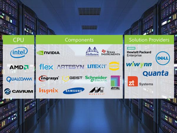 인텔/AMD/퀄컴/엔비디아와 개방형 서버 플랫폼 구현, MS 프로젝트 올림푸스 협력 발표