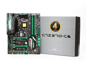 서버급 안정성의 Z270 게이밍 메인보드, 슈퍼오 C7-Z270-CG STCOM