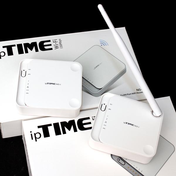 1인 가구를 위한 실속형 802.11n 공유기, ipTIME N3-i / N5-i
