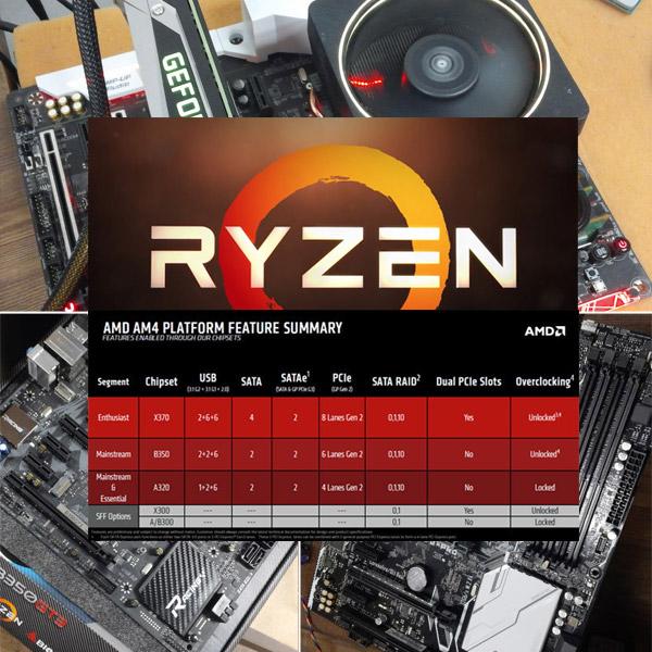 PC의 품질은 메인보드가 좌우한다, 라이젠용 AM4 메인보드 20종 점검