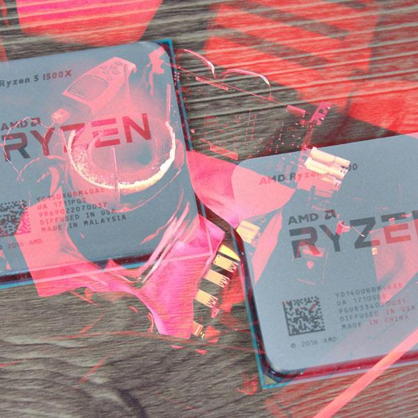 AMD 라이젠을 즐기는 또 다른 방법,1500X와 1400 오버클럭 도전