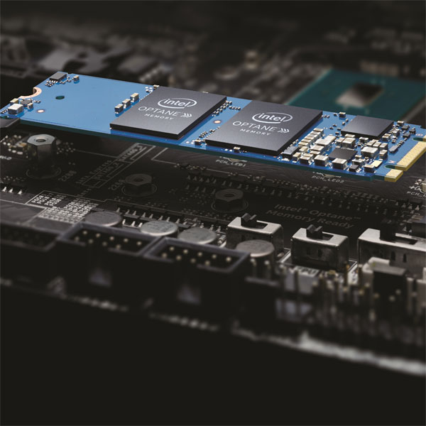 인텔 옵테인 메모리 판매 개시, HDD 성능 높이는 캐시 용도