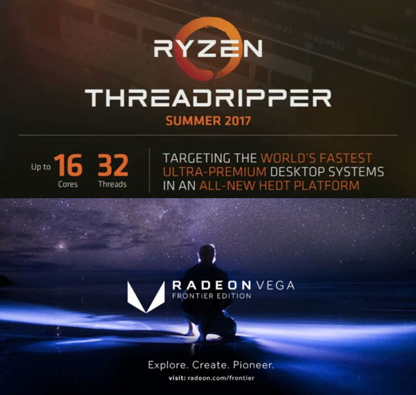 스카이레이크-X 대응 스레드리퍼 공식 발표,AMD의 추가 하반기 전략은?