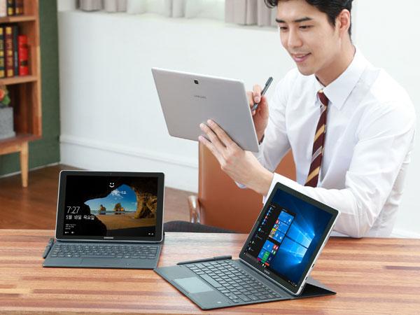 S펜 추가된 2-in-1 윈도우 태블릿, 삼성전자 갤럭시 북 2종 출시