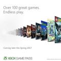 달마다 Xbox 게임 100개 즐기는 구독 서비스 'Xbox Game Pass' 6/1 출시