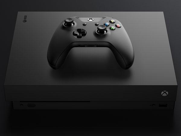 4K 지원 콘솔 게임기, Xbox One X 연말 출시