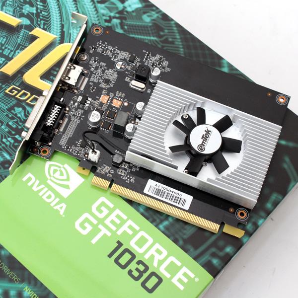 파스칼 기반 차세대 엔트리 VGA, 이엠텍 XENON GT1030 HDMI 2.0 D5 2GB