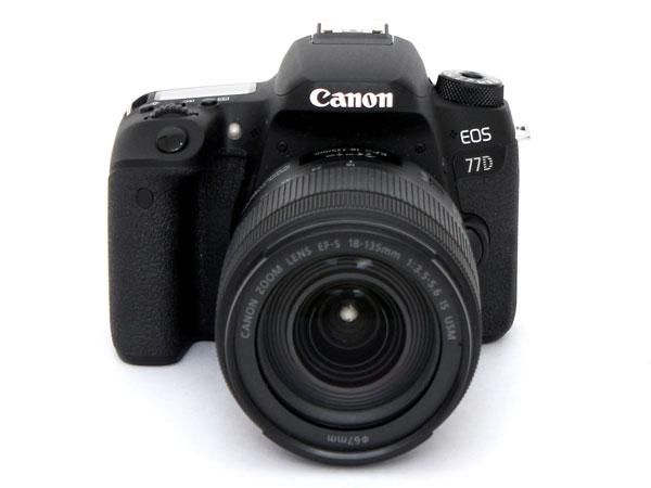 고성능을 추구하는 준중급형 DSLR 카메라, 캐논 EOS 77D
