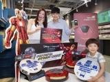 유진로봇, 아이클레보 아이언맨과 스타워즈 콜라보레이션 로봇청소기 출시