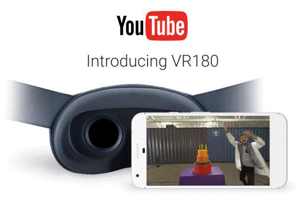 3D 카메라와 스마트폰 부활하나?, 유튜브 180도 동영상 VR180 지원
