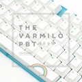 브라보텍, VARMILO PBT 염료승화 화이트 레인보우 컬러 키캡 예약판매 이벤트 진행