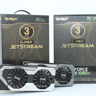 오리지널의 귀환,STCOM Palit 지포스 GTX1080TI/GTX1070 Super JetStream