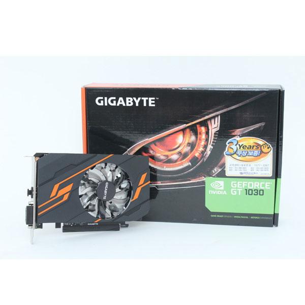 보급형의 최신작, GIGABYTE 지포스 GT 1030 D5 2GB 블랙펄