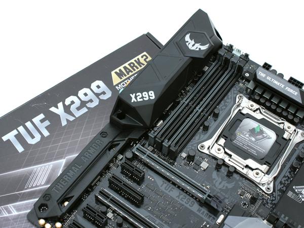 코어 X 프로세서용 터프한 메인보드, ASUS TUF X299 MARK2 STCOM
