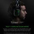 레이저, 티아맷 7.1 V2 플래그십 서라운드 사운드 게이밍 헤드셋 출시