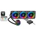 아스크텍, 써멀테이크 플로우 링 RGB TT 프리미엄 에디션 일체형 수냉쿨러 국내판매 개시