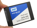 대용량 파일 쓰기 하락 걱정없는 3D SSD,WD 블루 3D 낸드 SSD 1TB