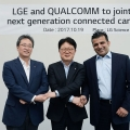 LG전자-퀄컴, 차세대 커넥티드카 솔루션 개발 위해 협력