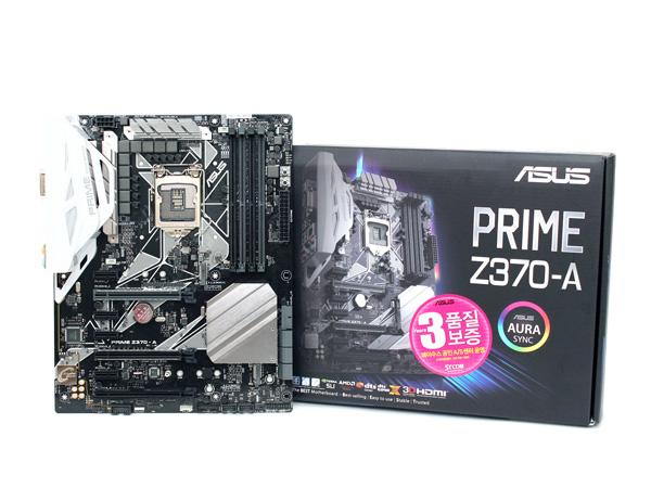 8세대 코어 프로세서를 위해 나왔다, ASUS PRIME Z370-A STCOM