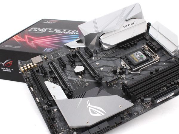 뜨거운 가슴과 차가운 이성의 게이머를 위한, ASUS ROG STRIX Z370-E Gaming
