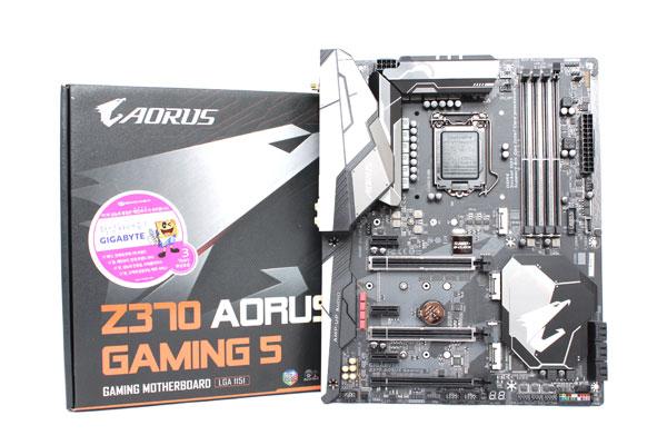 좋은 CPU엔 좋은 메인보드를, 기가바이트 Z370 AORUS GAMING 5 제이씨현