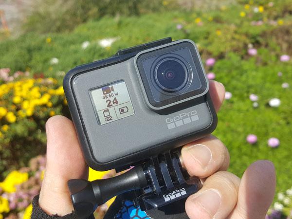 촬영 편집 공유 모두 쉬워진 액션캠, 고프로 히어로6 블랙