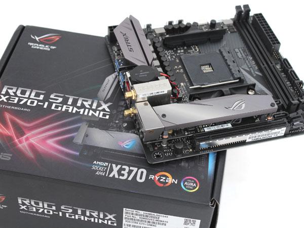 AMD 라이젠 미니 ITX도 고급지게,ASUS ROG STRIX X370-I Gaming
