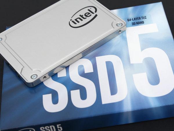 3D 낸드 SSD 시대 5년 보증, 인텔 SSD 545s 512GB