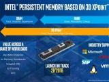 인텔 옵테인 DIMM, 2018년 하반기 출시 예정