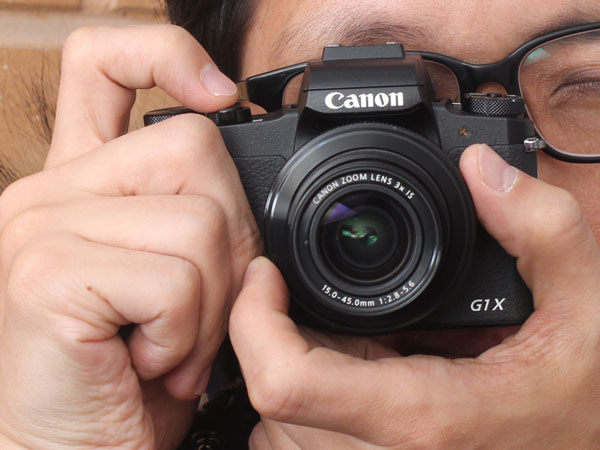 DSLR 심장 품은 컴팩트 카메라,캐논 파워샷 G1X Mark3