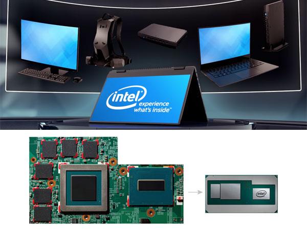 인텔 CPU와 AMD GPU 환상의 콜라보, 카비레이크G의 실체 전망